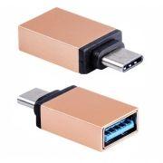 Адаптер OTG USB 3.1 Type C(m) - USB 3.0 Af, золотистый, BLAST BMC-602