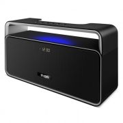 Мини аудио система SVEN PS-185BL, MP3, FM, Bluetooth, дисплей,часы