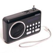 Радиоприемник СИГНАЛ РП-108, FM, MP3, аккумулятор