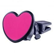 Держатель автомобильный на вентил. решетку, для устройств до 6,5, магнитный, Perfeo PH-518 Love
