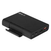 Зарядное устройство Qumo PowerAid 10400 мА/ч, Quick Charge 3.0, черное (23223)
