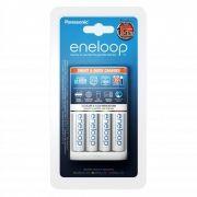 Зарядное устройство Panasonic Eneloop Smart&Quick Charger K-KJ55MCC40E + 4xАА 1900mА/h,  AA/AAA