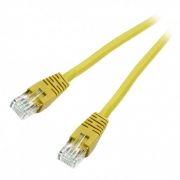 Кабель патч-корд UTP 6 категории 0.25 м, желтый, Cablexpert (PP6U-0.25M/Y)