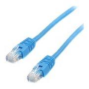 Кабель патч-корд UTP 6 категории 0.25 м, синий, Cablexpert (PP6U-0.25M/B)