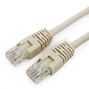 Кабель патч-корд UTP 6 категории 0.5 м, серый, Cablexpert (PP6U-0.5M)