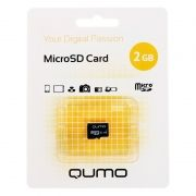Карта памяти MicroSD 2 Gb Qumo без адаптера (QM2GMICSDNA)