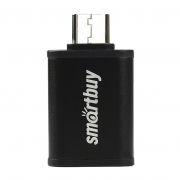 Адаптер OTG USB 3.1 Type C(m) - USB 3.0 Af, черный, SmartBuy (SBR-OTG05-K)