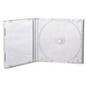 BOX 1 CD Jewel Case, прозрачный, полновесный трей, A-Media
