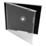 BOX 1 CD Jewel Case, черный, полновесный трей, A-Media