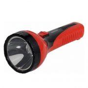 Фонарь SmartBuy, аккумуляторный, зарядка от USB, красный, 2W (SBF-71-R)