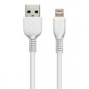 Кабель USB 2.0 Am=>Apple 8 pin Lightning, 1 м, белый, Hoco X13 Easy charged