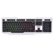 Клавиатура игровая SmartBuy Rush SBK-333U-WK USB, белая/черная, подсветка