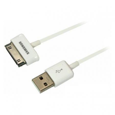 Кабель USB 2.0 Am=>Samsung Galaxy Tab S30 pin, 1 м, белый, Rexant (18-4214)