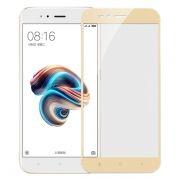 Защитное стекло для экрана Xiaomi MI 5X/A1 Gold, Full Screen Asahi, Perfeo (PF_A4059)