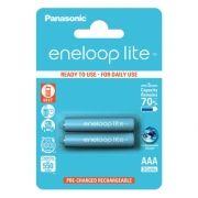 Аккумулятор AAA Panasonic Eneloop Lite 550мА/ч Ni-Mh, 2шт, блистер (BK-4LCCE/2BE)