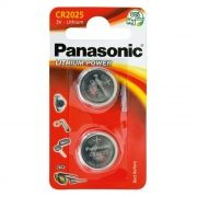 Батарейка CR2025 Panasonic, 2 шт, блистер