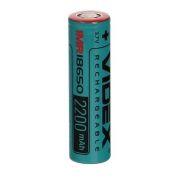 Аккумулятор 18650 VIDEX 2200мА/ч 22A, незащищенный, без блистера (VID-IMR18650-2.2-NP)