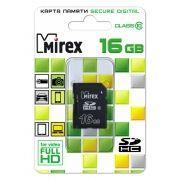 Карта памяти SDHC 16Gb Mirex Class 10 (13611-SD10CD16)