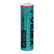 Аккумулятор 18650 VIDEX 2800мА/ч 28A, незащищенный, без блистера (VID-IMR18650-2.8-NP)
