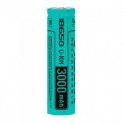 Аккумулятор 18650 VIDEX 3000мА/ч, незащищенный, без блистера (VID-18650-3.0-NP)