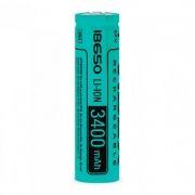 Аккумулятор 18650 VIDEX 3400мА/ч, незащищенный, без блистера (VID-18650-3.4-NP)