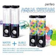 Колонки Perfeo  Aqua Dream, черные, USB (PF_A4069)