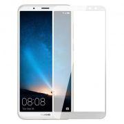 Защитное стекло для экрана Huawei Nova 2i White, Full Screen Asahi, Perfeo (PF_A4158)