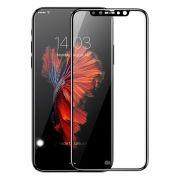 Защитное стекло для экрана iPhone X Black, Full Screen Gorilla, Perfeo (PF_5329)