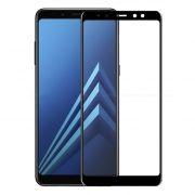 Защитное стекло для экрана Samsung Galaxy A8+ Black, 3D Gorilla, Perfeo (PF_A4079)
