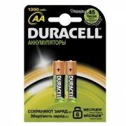 Аккумулятор AA DURACELL HR6-2BL 1300мА/ч Ni-Mh, 2шт, блистер