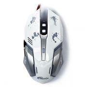 Мышь игровая Ritmix ROM-360 USB белая