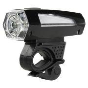 Фонарь велосипедный Smartbuy BF03, светодиодный, 1 LED, 3W, черный, 3xAAA (SBF-BF03-B)