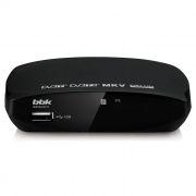 Цифровой телевизионный ресивер DVB-T2 BBK SMP002HDT2 черный