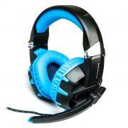 Гарнитура DIALOG HGK-34L Blue, игровая, с подсветкой и рег. громкости