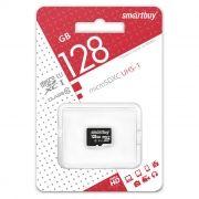 Карта памяти Micro SDXC 128Gb SmartBuy Class 10 UHS-I U1 без адаптера (SB128GBSDCL10-00)