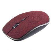 Мышь беспроводная Perfeo Fabric, ткань бордо, USB (PF-3824-WOP-RD) (PF_A4088)
