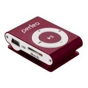 MP3 плеер Perfeo Titanium Lite, бордовый (PF_A4143)