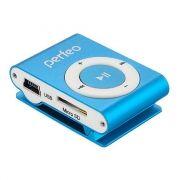 MP3 плеер Perfeo Titanium Lite, голубой (PF_A4144)