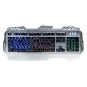 Клавиатура игровая DIALOG Gan-Kata KGK-29U Silver USB, металл, с подсветкой