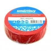 Изоляционная лента Smartbuy 0,13 x 15 мм x 10м, красная (SBE-IT-15-10-r)