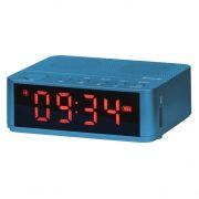 Мини аудио система DEFENDER Enjoy M800 Bluetooth, MP3, FM, часы/будильник, синяя (65685)