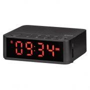 Мини аудио система DEFENDER Enjoy M800 Bluetooth, MP3, FM, часы/будильник, черная (65683)