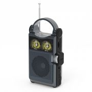 Радиоприемник RITMIX RPR-333 Carbon, FM/AM, MP3