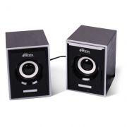 Колонки RITMIX SP-2090w, MDF, черные, питание от USB
