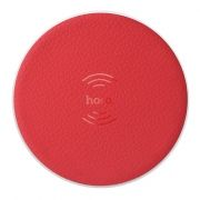 Беспроводное зарядное устройство Qi, красное, Hoco CW14 Round