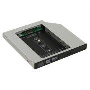 Шасси для SSD M.2 (NGFF) в отсек 5.25 12.7мм, Orient UHD-2M2C12