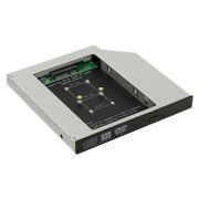 Шасси для SSD mSATA в отсек 5.25 12.7мм, Orient UHD-2MSC12