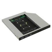 Шасси для SSD mSATA в отсек 5.25 9.5мм, Orient UHD-2MSC9