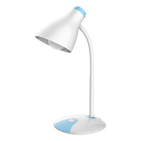 Светильник настольный светодиодный SmartBuy 5W, белый/голубой, 220V (SBL-3093-5-WBL-White)