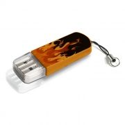16Gb Verbatim Mini Elements Edition Fire USB 2.0 (49406)